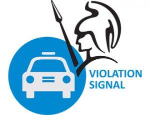 Violation signal 24 center